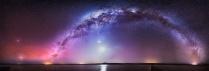 30-image panorama of many sky wonders