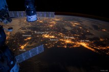 USA's Northeast Megalopolis from Space