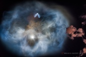 The Falcon 9 nebula